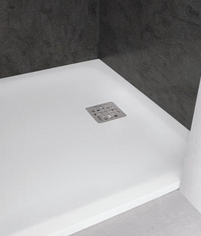 Piatto doccia in corian pulizia
