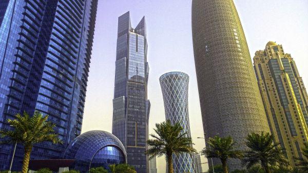 Lo shyline di Doha