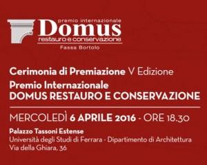 Quinta Edizione per il Premio Domus – Restauro e Conservazione