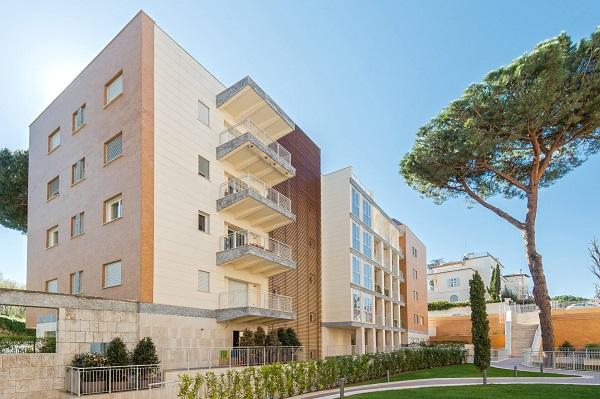 Complesso residenziale ristrutturato