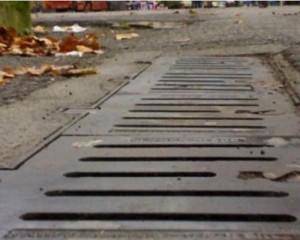 Drenaggio delle acque per confluire le piogge