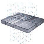 Masselli e lastre effetto pietra per pavimentazioni drenanti