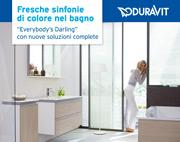 Duravit presenta Darling New: fresche sinfonie di colore nel bagno