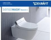 SensoWash Starck C, il nuovo sedile elettronico di Duravit