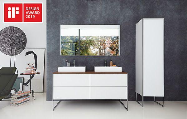 La serie di mobili per il bagno XSquare di Duravit vince l'iF DESIGN AWARD 2019