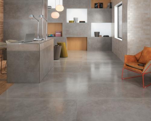 Dwell, pavimenti effetto resina sintetica