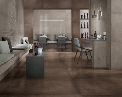Dwell, pavimenti e rivestimenti in pasta bianca che si ispirano alle resine sintetiche