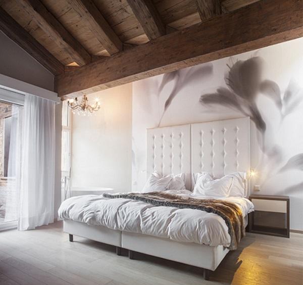 Camera per gli ospiti dell'hotel Matthiol