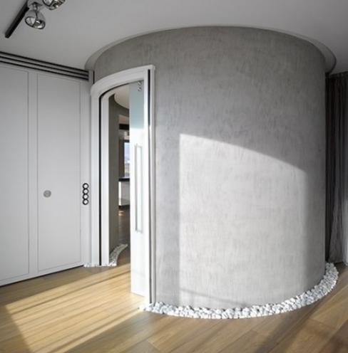 Porte scorrevoli a scomparsa o esterno parete - Parete cartongesso con porta scorrevole ...