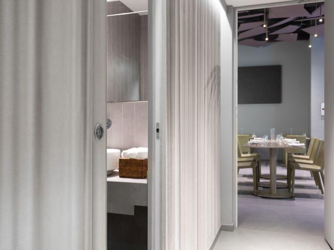 Controtelaio Eclisse Unico nel ristorante Identità Golose a Milano