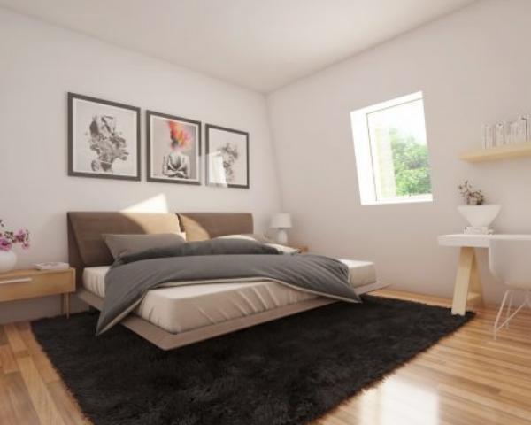 Ecokit: la casa ecologica che si assembla facilmente. La camera da letto