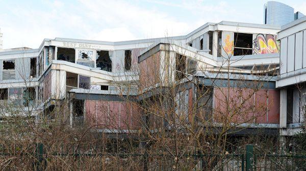 Lo stato attuale dell'Ecole d'Architecture de Nanterre