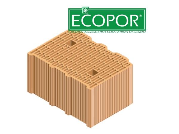 I laterizi ECOPOR di T2D, a base di argilla e farina di legno