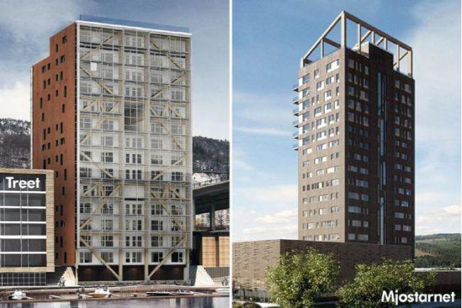 Edifici in legno sempre più alti