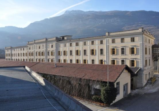 Edificio 14 vista da est