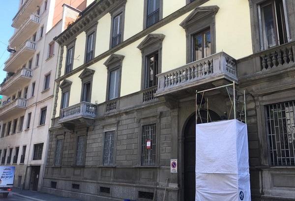 Edificio storico milanese