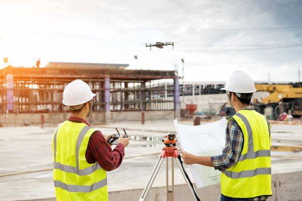 Come si possono utilizzare i droni in edilizia