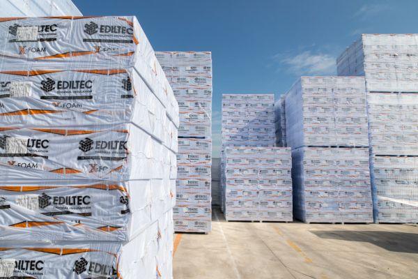 Un nuovo successo per Ediltec che ha acquisito l'impianto di XPS del competitor lodigiano Ales