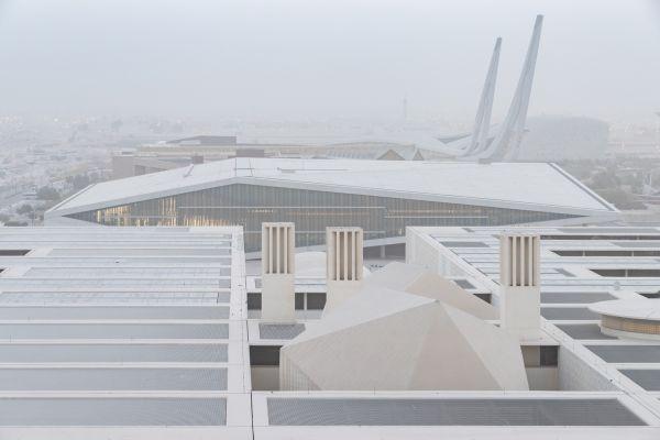 Esterno Biblioteca Nazionale del Qatar