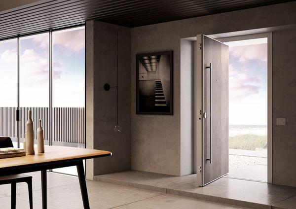 Di big porta blindata con apertura a bilico - Aprire finestra muro esterno ...
