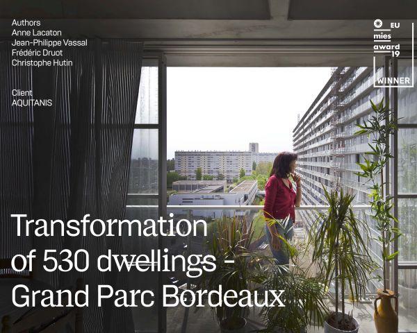 L'innovativa ristrutturazione di 3 condomini a Bordeaux vince il Mies van der Rohe