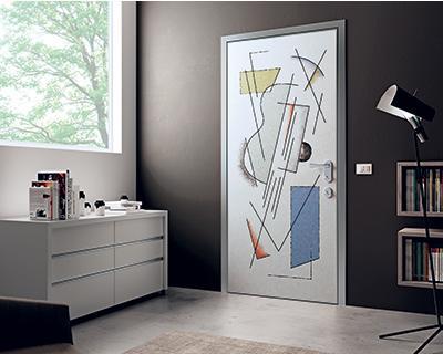pannello laminato con disegni evotech - Disegni Moderni Per Porte In Vetro
