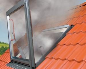 Massima sicurezza con nuova finestra per evacuazione fumi