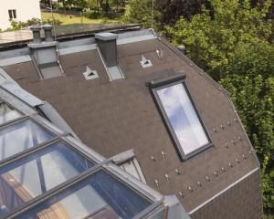 Villa viennese con finestre Fakro