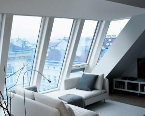 Superfici vetrate ampie per un'illuminazione senza precedenti