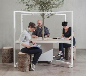 "Matteo Ragni racconta per Fantoni ""the new ways of working"""