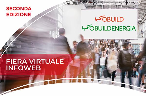 Dal 12 al 15 ottobre la fiera digitale di Infoweb dedicata al mondo delle costruzioni
