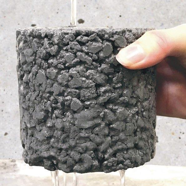 Filter Concrete, un campione della struttura