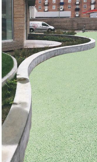 Pavimentazione trattata con Filter Concrete