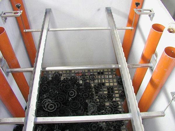Filtri percolatori aerobici per il trattamento delle acque chiarificate