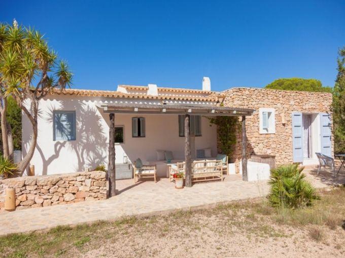 Finche, tipica architettura di Formentera