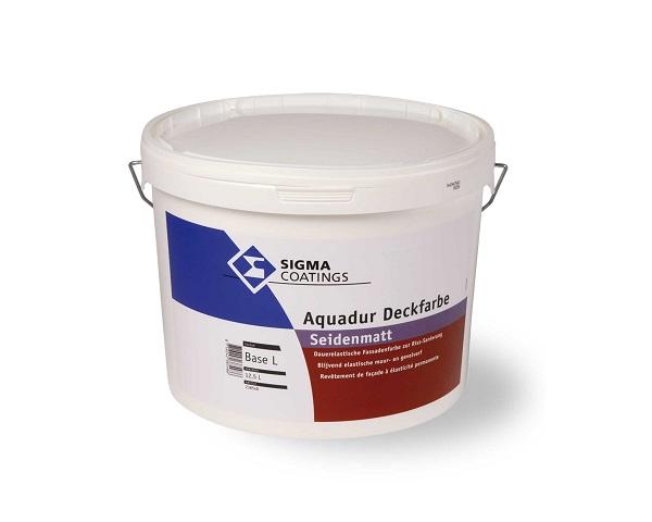 Aquadur Deckfarbe Seidenmatt - pittura elastomerica di finitura