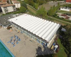 Sistemi Cool Roof FLAG® per la Piscina Comunale di Vittorio Veneto