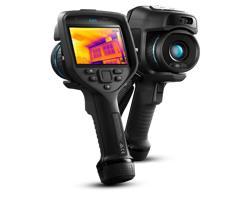 Termocamere E85 per il monitoraggio delle costruzioni