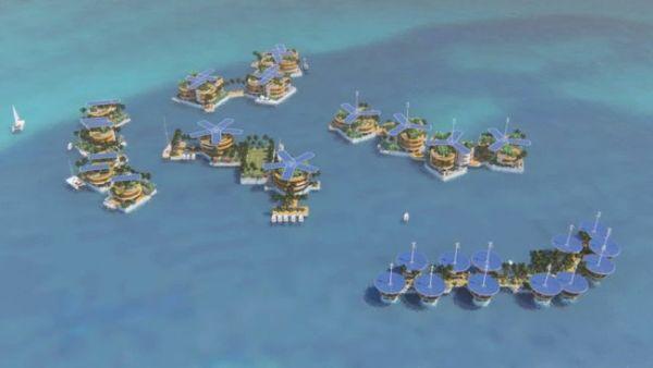 floating city seastanding
