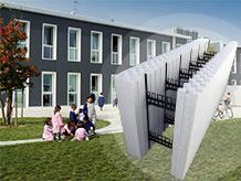 Sistema costruttivo per edifici antisismici