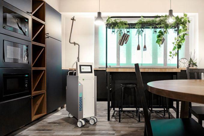 Fogger di Smart Fluids, dispositivo certificato per la disinfezione degli ambienti e dei canali di aerazione