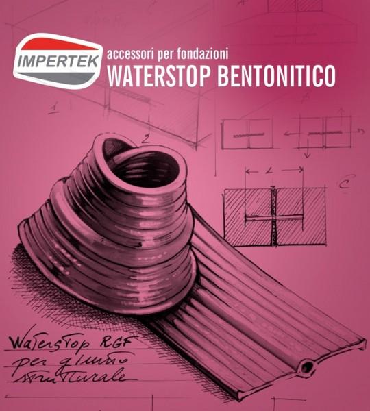 Accessori per fondazioni - waterstop bentonitico per l'impermeabilizzazione