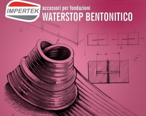 Accessori waterstop per fondazioni in bentonite e PVC
