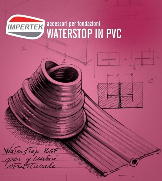 Accessori per fondazioni - waterstop in PVC per l'impermeabilizzazione