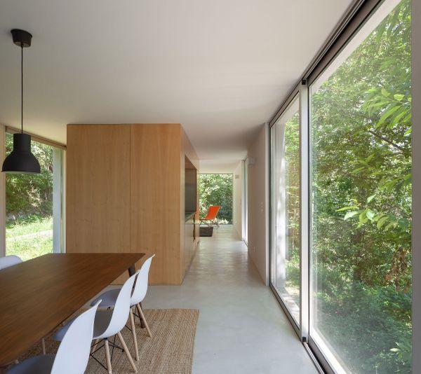 L'interno della Forja House in Portogallo