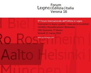 5° Forum Internazionale dell'Edilizia in Legno 1