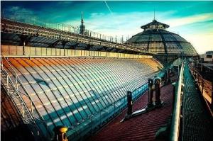 A spasso sui tetti della Galleria Vittorio Emanuele 1
