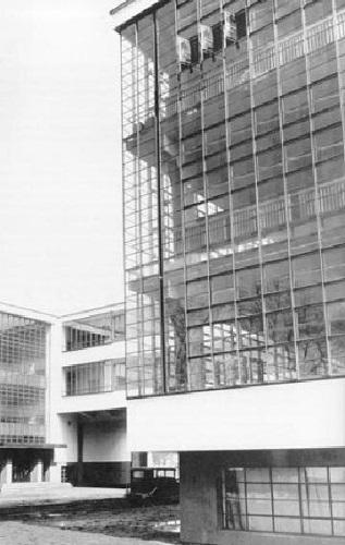 Vetrate della scuola del Bauhausdi Dessau