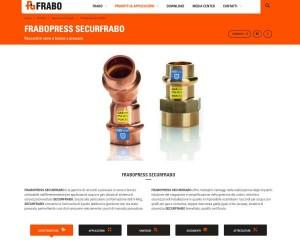 Frabo, il nuovo sito che parla al mondo dell'idrotermosanitaria