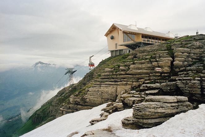 Herzog & de Meuron, funivia sul monte Chaserrugg